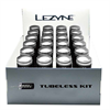 Lezyne Tubeless Kit - Counter Top - 24pcs