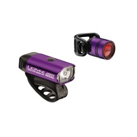 Lezyne Hecto Drive 400XL / Lezyne Femto purple light set