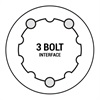 3 bolt Praxis direct mount chainring