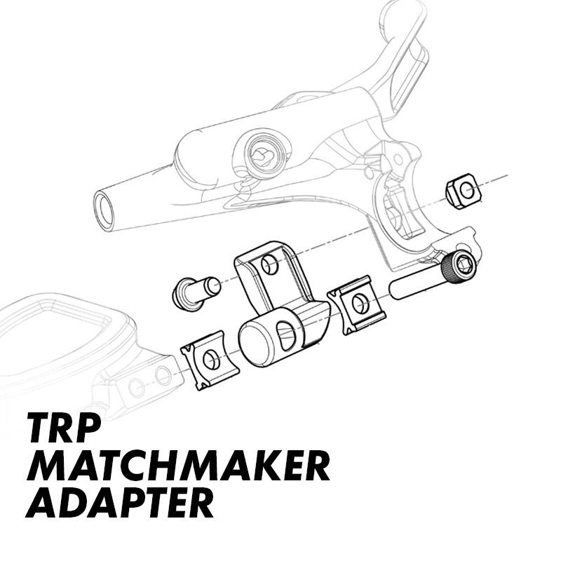 TRP Integrated Mountain Right-Hand Shifter Adapter SRAM MatchMaker