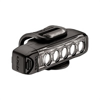 Lezyne Strip Drive 400 - 400 Lumen Rechargeable LED Bike Light - Black