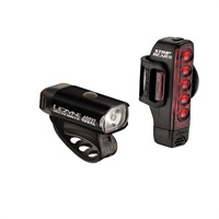 Lezyne Hecto Drive 400XL / Strip Drive LED lights pair