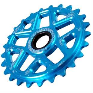Blue DMR Spin Standard Drive Chainring from Upgrade Bikes