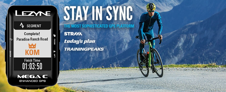 Stay in Sync with Upgrade Bikes and Lezyne
