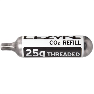 Lezyne 25G Threaded CO2 Cartridge from Upgrade Bikes