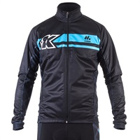 Kinesis UK thermal jacket zip detail