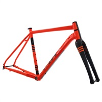 Kinesis - Tripster AT Frameset - Columbus - Orange