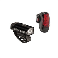 Lezyne Hecto Drive 400XL / Lezyne KTV cycling lights pair