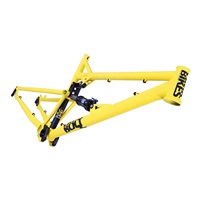 Yellow DMR Bolt Frame Long MK2 from Upgrade Bikes