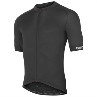 FUSION SLi Cycling Jersey - Black from Upgrade Bikes
