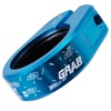 Blue DMR Grab Seat Clamps from Upgrade Bikes