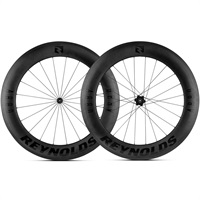 Reynolds AR 80 - 80mm Carbon Road Bike Wheelset. Tubeless ready.