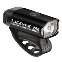 Lezyne Mini Drive 300 - Black from Upgrade Bikes